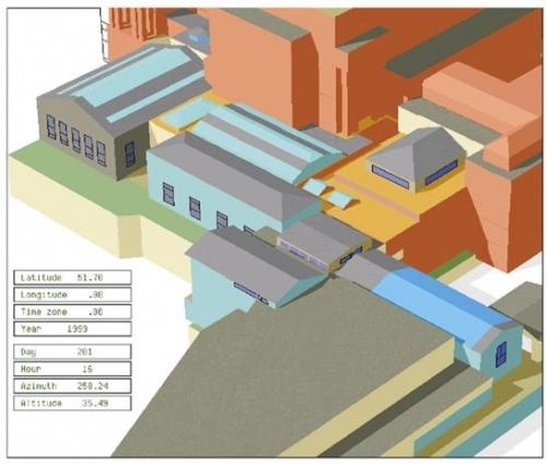 Buckingham Palace Thermal Model